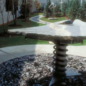 This fountain, Spring, was built and installed at the Altamont School in Birmingham, Alabama in 1999.
